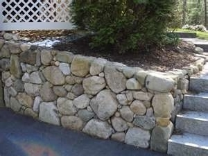 West Linn Rock Retaining Wall Concrete